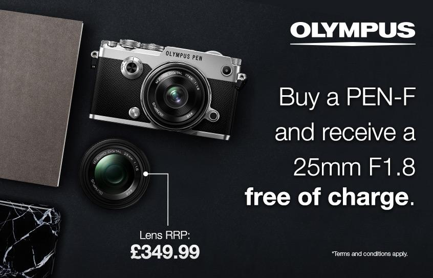 Olympus PEN-F Promotion